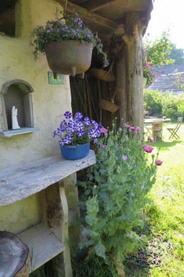 Een hoekje uit de tuin van Creapoelka