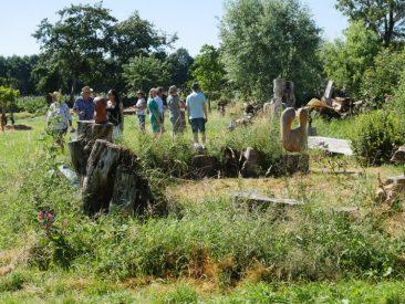 Jubilo inspiratio bij Creapoelka: beeldhouwen in hout en steen.