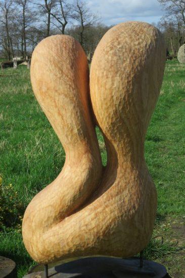 tuinbeeld van cederhout
